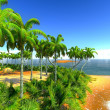 Hawaiian paradise — Stock Photo