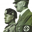 Benito Mussolini and Adolf Hitler - Stock Photo