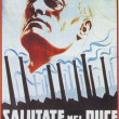 Benito Mussolini shown on Nazi poster — Stock Photo