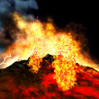Volcanic eruption — Stock Photo #20615245
