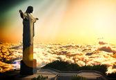 基督 reedemer — 图库照片