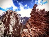 Cordillera de los andes — Foto de Stock