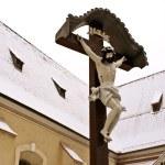 Jesus Christ on cross — Stock Photo