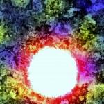 Supernova burst in deep space — Stock Photo #22553063