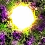Supernova burst in deep space — Stock Photo #22553717