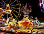 Fairground Carousel — Stock Photo