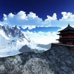Sun temple - Buddhist shrine — Stock Photo #23860941