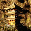 Buddhist temple in mountains — Stock Photo #24120609