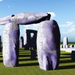 Stonehenge sanctuary - Stock Photo