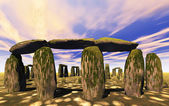 Stonehenge sanctuary — Stock Photo