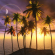 Tropical paradise — Stock Photo