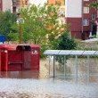 Flooded city — Stock Photo #26503227