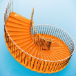 Spiral stairs — Stock Photo #27397483