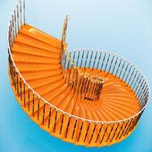 Spiral stairs — Fotografia Stock