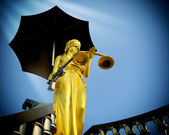 Steps to justice — Stock Photo