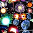 Astronomical background — Stock Photo