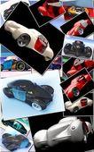 Generic model of car — Stock Photo