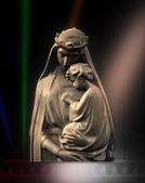 Virgin Mary with Jesus — Stock Photo
