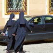 Christian nuns — Stock Photo