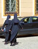 Christian nuns — Stock Photo