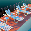 Lounge chairs — Stock Photo