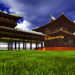 Zen buddhist temple — Stock Photo #35287765