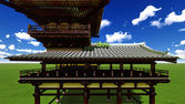 Zen buddhist temple — Photo