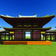 Zen buddhist temple — Stock Photo #35294369