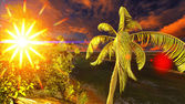 热带天堂 — 图库照片