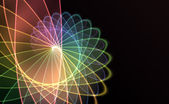 Spiral technology background — 图库照片