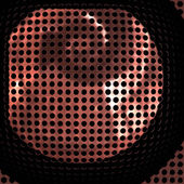 Speaker grille — Stock Photo