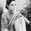 ALI MACGRAW — Stock Photo