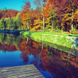 Fall time in park — Stock Photo