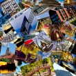 European city collage — Stock Photo