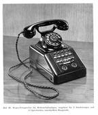 Telefono vintage siemens — Foto Stock
