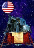 Satellit — Stockfoto