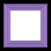 Klassiek houten frame — Stockfoto