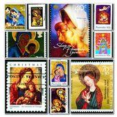 Madonna con el niño jesús — Foto de Stock