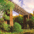 Stock Photo: Historic viaduct
