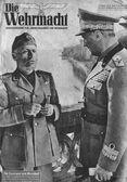 Benito Mussolini & Rodolfo Graziani — Stock Photo