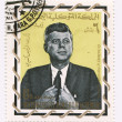 John Fitzgerald Kennedy — Stock Photo