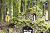 Chapel in the forest — Stock Photo