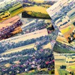 Aerial view of the village — Stock Photo #43084157
