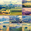 Aerial view of the village — Stock Photo #43084165