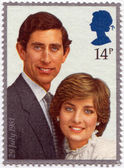 Prince Charles and Lady Diana — Stock Photo