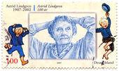 Astrid Anna Emilia Lindgren — Zdjęcie stockowe