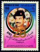 Saddam Hussein, — Stock Photo