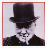 Winston Churchill — Stock Photo