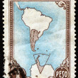 Argentine postage stamp — Stock Photo #45042509