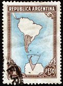Argentine postage stamp — Stock Photo